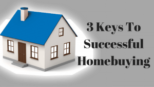 3 Keys To Successful Homebuying